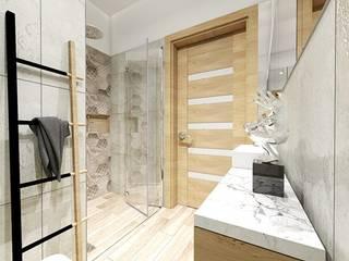 Łazienka: styl , w kategorii Łazienka zaprojektowany przez Niemniej Architekci