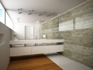 Dom Olsztyn Nowoczesna łazienka od AFD Interiors Nowoczesny