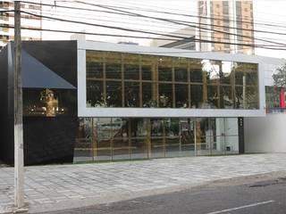 Edificios de oficinas de estilo moderno de Patrícia Diniz- arquitetura & interiores Moderno Madera Acabado en madera