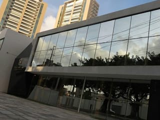 Edificios de oficinas de estilo moderno de Patrícia Diniz- arquitetura & interiores Moderno