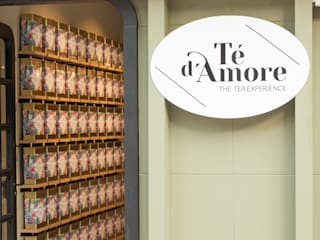 Tienda de Té - Té d´Amore:  de estilo  de Martyseguido diseño interiorismo