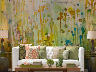 Watercolor Spots Pixers Salas de estilo colonial