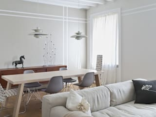 Fabio Azzolina Architetto Moderne Wohnzimmer