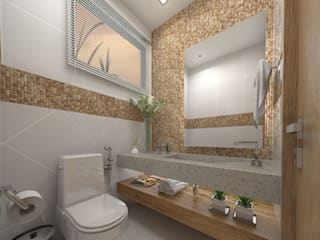Modern bathroom by Martin.Perham Arquitetura Modern