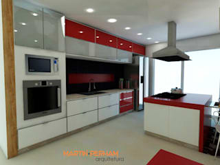 Modern kitchen by Martin.Perham Arquitetura Modern