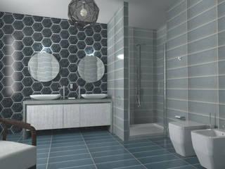 Baños de estilo  por Acquario Due