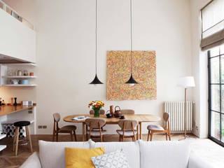 Comedores de estilo moderno de Fabio Azzolina Architetto Moderno