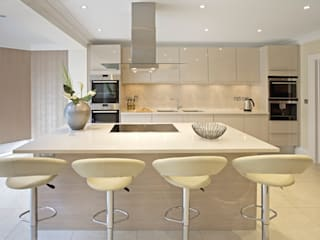 Kitchen & Dining Cocinas de estilo moderno de Gracious Luxury Interiors Moderno