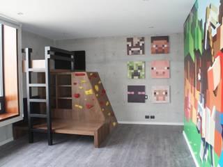 Vista general del cuarto:  de estilo  por Caio Espacios Infantiles