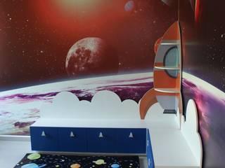 Cuarto espacial:  de estilo  por Caio Espacios Infantiles