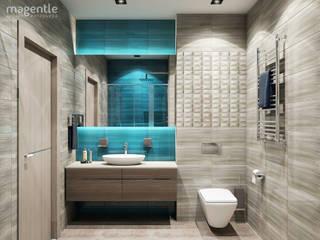 Baños de estilo  por MAGENTLE,