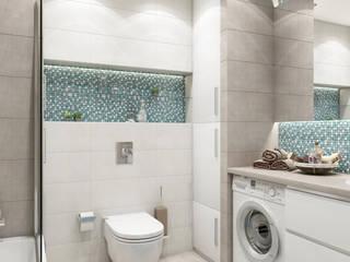 Лескова: Ванные комнаты в . Автор – MAGENTLE