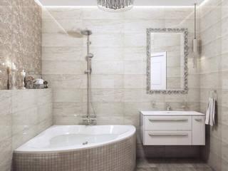 Шевченко: Ванные комнаты в . Автор – MAGENTLE