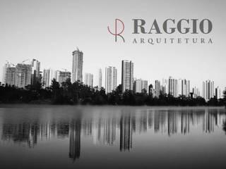 Foto de Capa Escritórios minimalistas por RAGGIO ARQUITETURA Minimalista