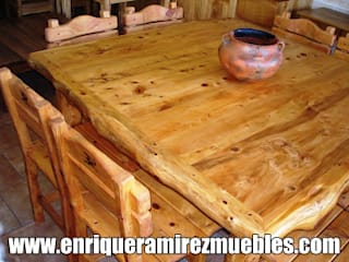 rustic  by Enrique Ramirez Muebles artesanales, Rustic