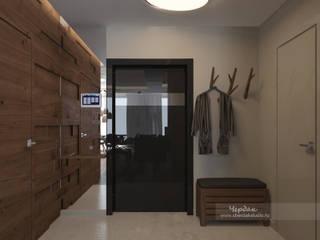 Дизайн-проект двухкомнатной квартиры в стиле лофт: Коридор и прихожая в . Автор – Студия дизайна интерьера «Чердак»