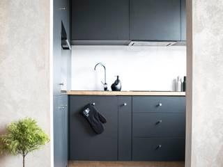 Zolnik Pracownia Кухня в стиле минимализм Бетон Серый