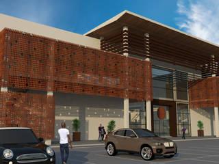 모던 스타일 쇼핑 센터 by Sotto Mayor Arquitetura e Urbanismo 모던