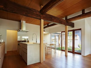 Modern kitchen by 一級建築士事務所 こより Modern