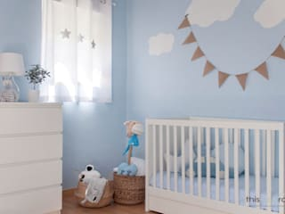 Nursery/kid's room by This Little Room, Scandinavian