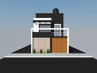 DISEÑO - VIVIENDA UNIFAMILIAR: Casas de estilo  por BIANGULO DISEÑO Y CONSTRUCCION S.A.C.