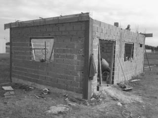 Casa DV - Obra en ejecución : Casas de estilo  por Estudio BLOT