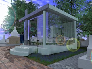 Mausoleo Casas minimalistas de ARQUITECTO ALEJANDRO ORTIZ Minimalista