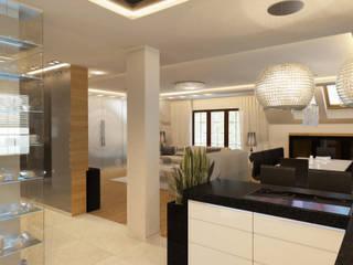 Apartament Kobyłka: styl , w kategorii Kuchnia zaprojektowany przez AFD Interiors