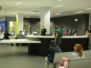 Moderne kantoorgebouwen van BE-DESIGNER Modern
