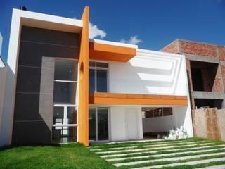 Casa Condado de Capão : Casas  por Felzemburgh & Menezes arquitetura e engenharia ,Moderno