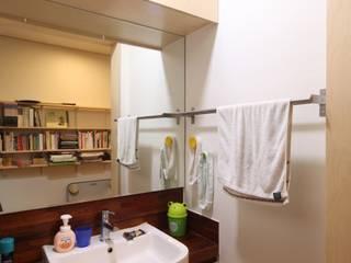 도곡리 주택 위드하임 ห้องน้ำ Wood effect