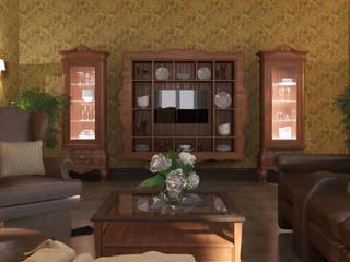 Проект котеджа Кухня в стиле кантри от Мастерская дизайна 'Ларчик-Art' Кантри