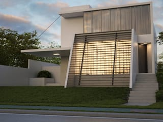 Casa Brise : Casas  por Felzemburgh & Menezes arquitetura e engenharia ,Moderno
