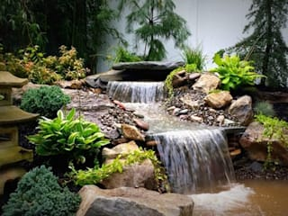 Bio Göl Havuz (Biyolojik Gölet ve Havuz Yapısalları) – Örnek Projeler:  tarz Bahçe