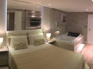 Mediterranean style bedroom by MO Arquitetura Ltda Mediterranean