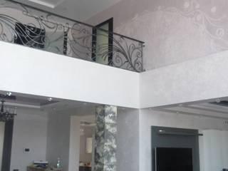 Загородный дом в сиреневых тонах:  в . Автор – Мастерская дизайна 'Ларчик-Art'