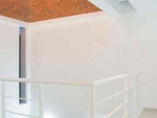 Casa Estudio: Salas de estilo  por Bojorquez Arquitectos SA de CV