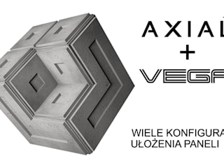 ZICARO - producent paneli 3D Pusat Perbelanjaan Minimalis Keramik Grey