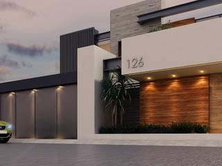 Besana Studio Modern home Beige