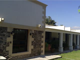 Casa de Descanso y Temazcal: Casas de estilo  por ARCO +I