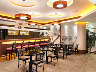 Hotel Novo Mundo - Piano Bar: Hotéis  por DG Arquitetura + Design