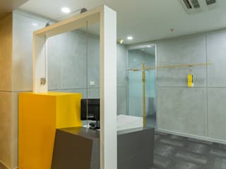 Office for LIEBHERR INDIA LTD: industrial  by DeFACTO Architects,Industrial