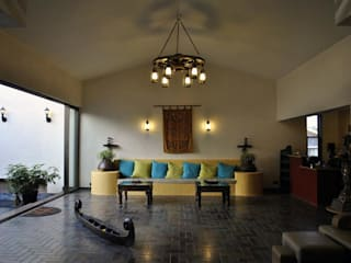 Atulyam - The Spa: rustic  by DeFACTO Architects,Rustic