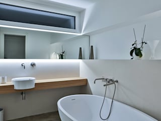 ALDENA Modern bathroom White