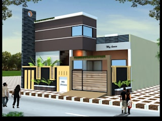 Modern Houses by Nirman Construction Modern
