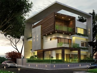 Residential Project :  Houses by agnihotri associates