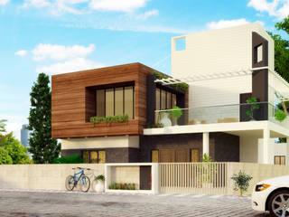 Casas de estilo  por agnihotri associates, Moderno