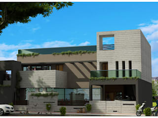 Rumah oleh agnihotri associates, Modern