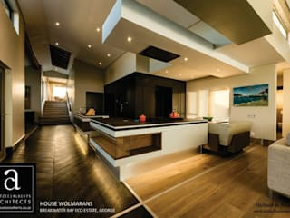 House Wolmarans: modern Kitchen by Coetzee Alberts Architects