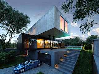 Kabu Desıgn – R House:  tarz